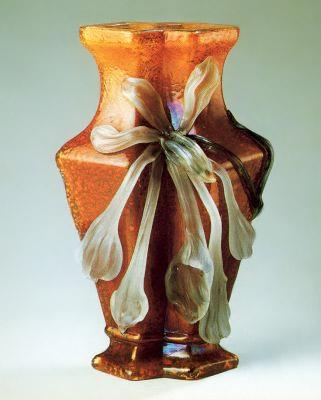 Emil Halle: Vase Orchid