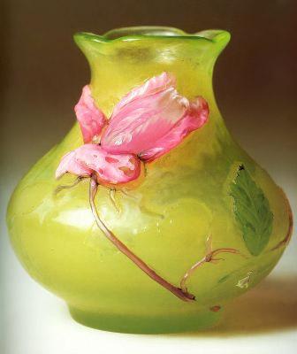 Emil Halle: Vase Rose