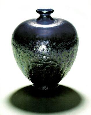 Glass factory Johan Letz Widow: Vase