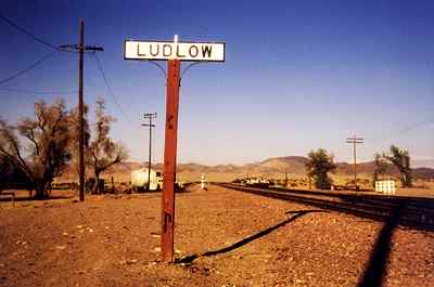 Ludlow the Ghost Town