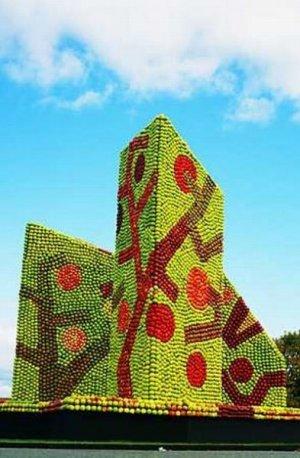Apple Sculptures