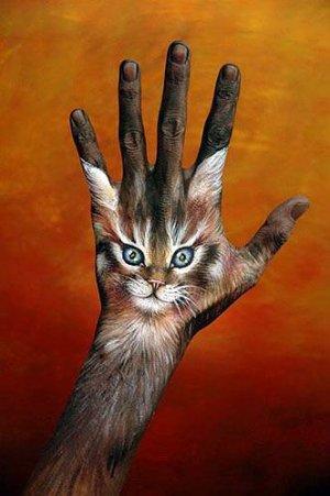 Hand Bodyart