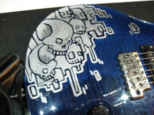 Photos of Guitars from Mike Shinoda
