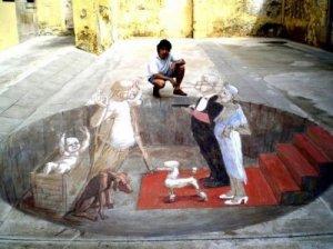 Asphalt Paintings