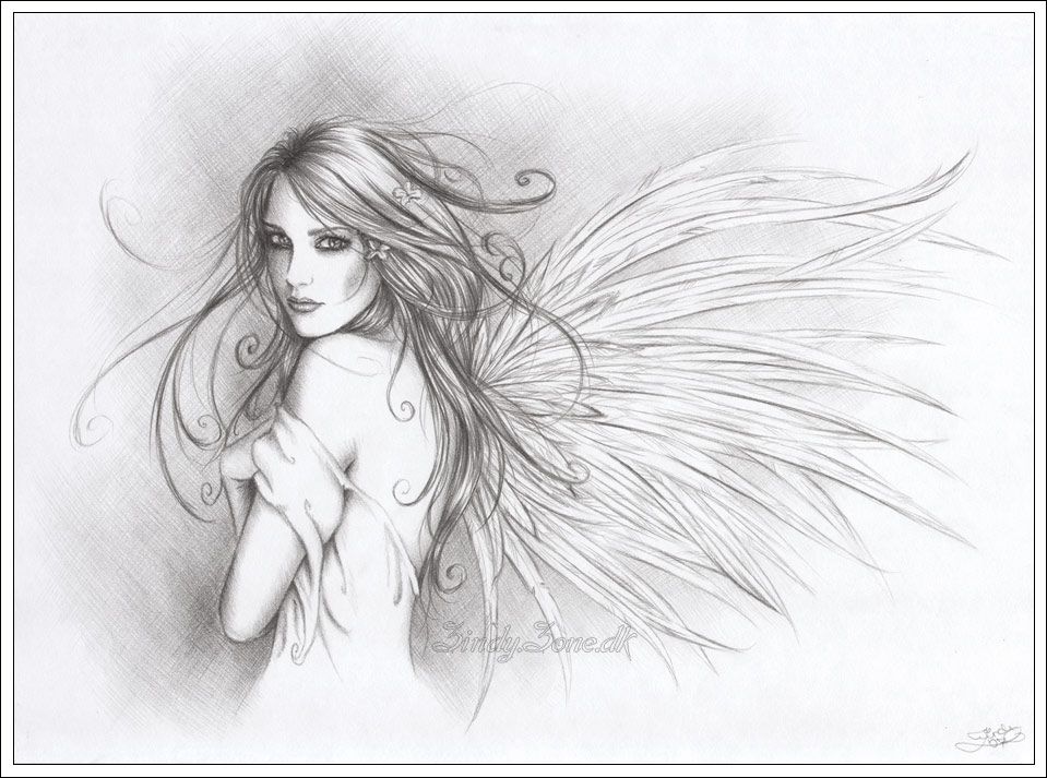 17 Best images about Angel drawingS on Pinterest | Wings, Angel ...