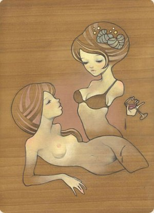 Painting Lolitas Manga-Style