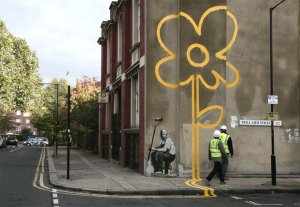 Graffiti by Banksy