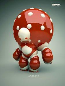 Mushroom Robot