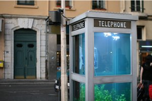Phone Booth - Aquarium