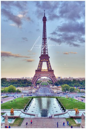 Paris, the Eiffel Tower