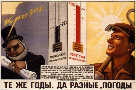 soviet posters 1920s / Same years, different weathers.