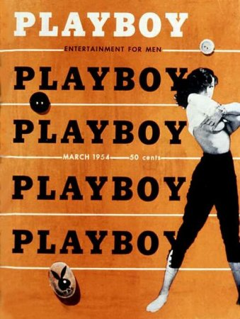 Playboy Covers of 1954