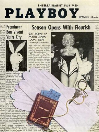 Playboy Covers of 1955