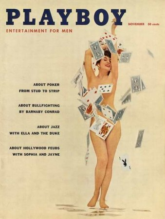 Playboy Covers 1957