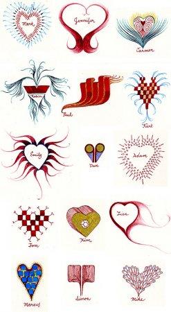 150 Valentine Cards