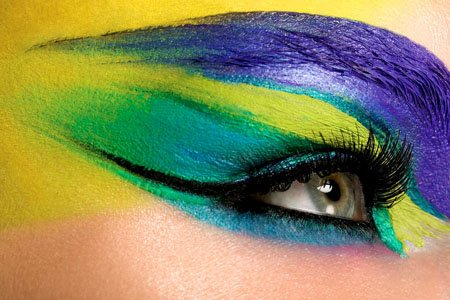 Colorful Makeup Photos